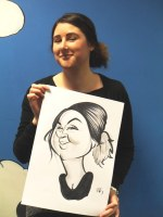 A Crewe Caricature Artist Hire